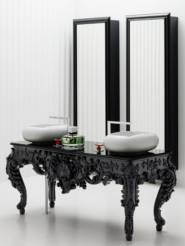 Bisazza Wanders Collection 1 Bathe in Antique + Modern Style