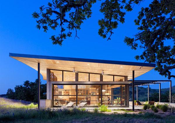 Clean, Green California House Design 1