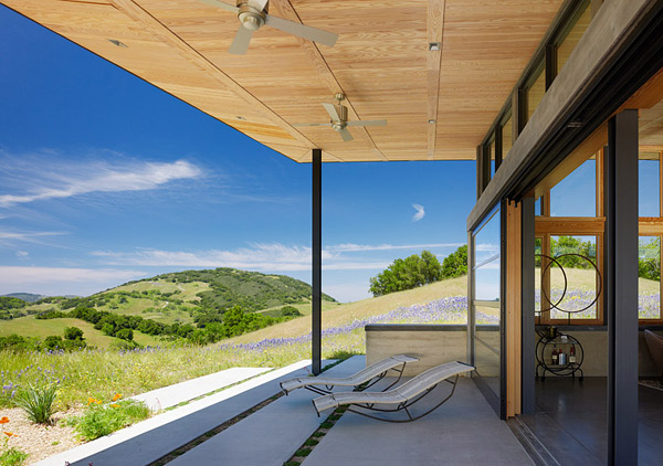 Clean Green California House Design 3 Caterpillar House is a Ranch Style Home