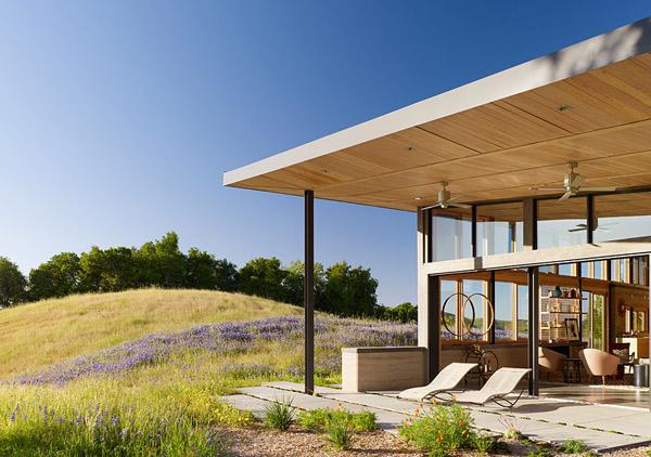 Clean, Green California House Design 4