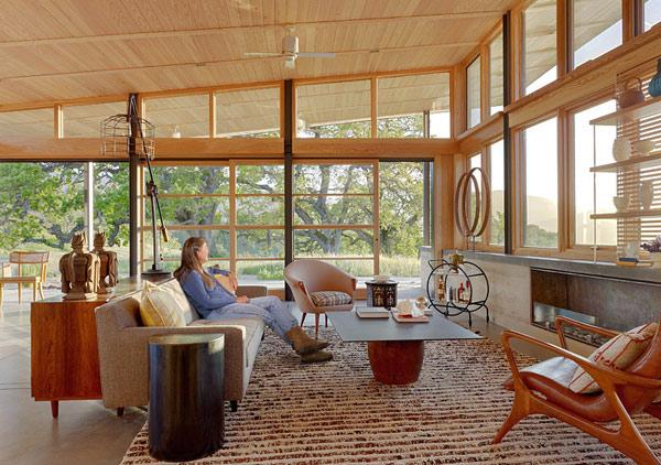 Clean, Green California House Design 5