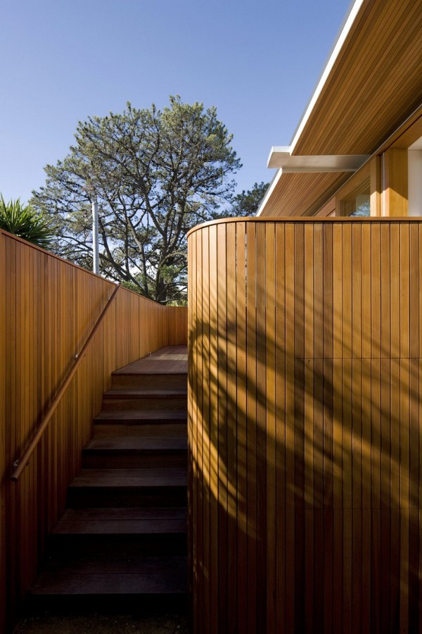 Curl Curl Beach House by CplusC Architects 2 Timber House, An Arresting Beauty