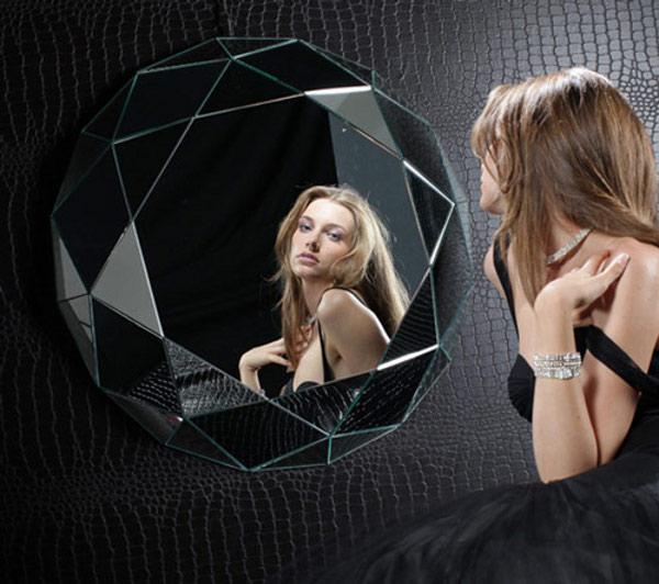 Geometric Wall Mirror 1