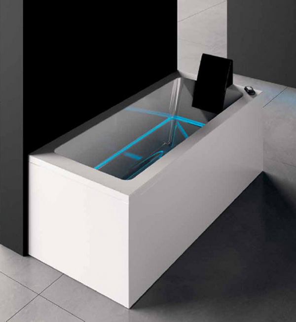 Illuminated Bathtub by Treesse Dream 2 Bathe in Comfort; Bathe in Light