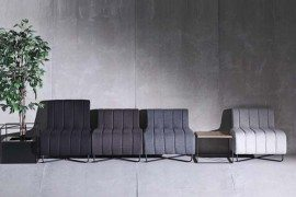 Elegant Join seating units by Ece Yalim Design Studio
