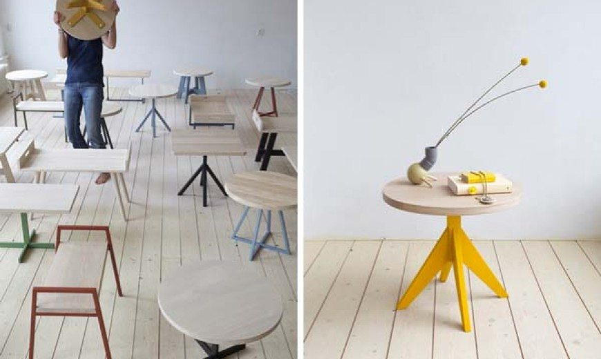 Simple and elegant Slow Wood Table Collection