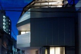 Contemporary japanese residence in Tokyo: Mishima House