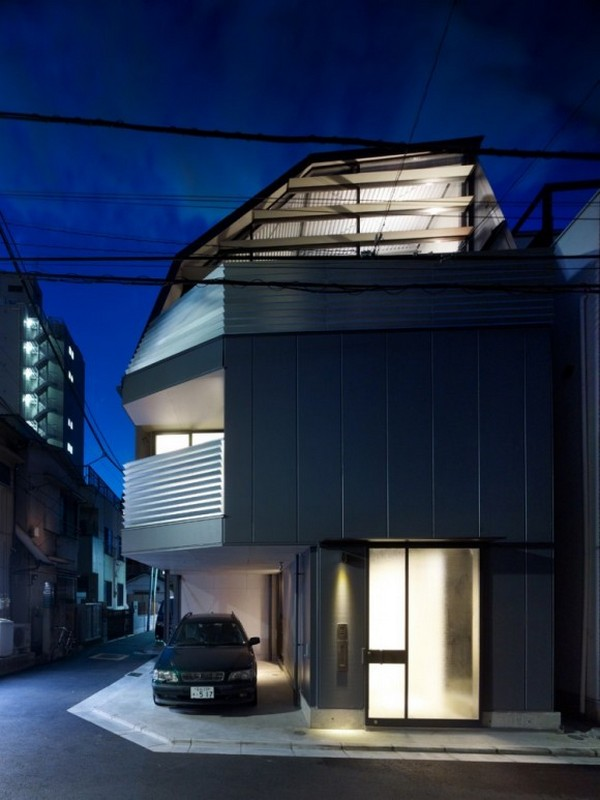 Mishima House Contemporary japanese residence in Tokyo: Mishima House
