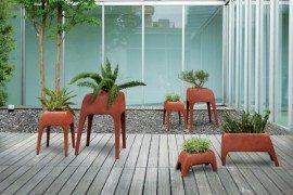 Perfect for contemporary homes: Safari Planters