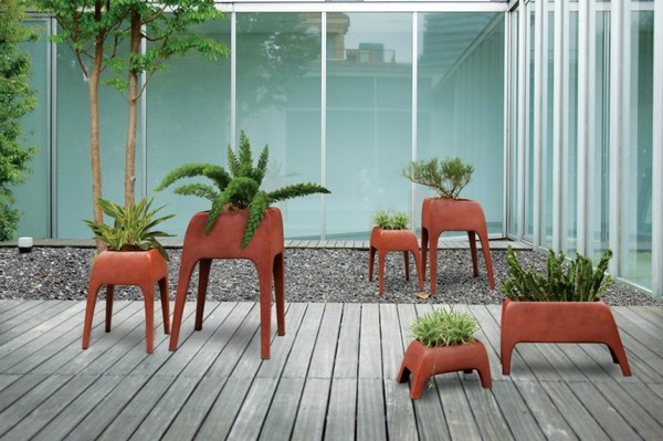 Safari Planters Perfect for contemporary homes: Safari Planters