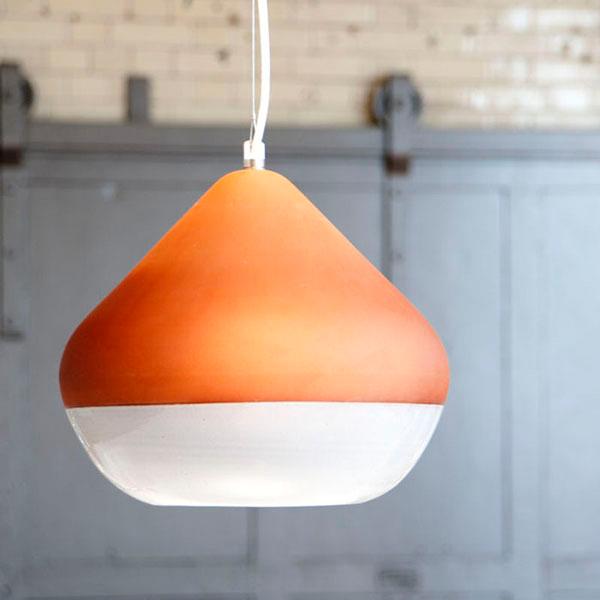 Terracotta Lamps (2)