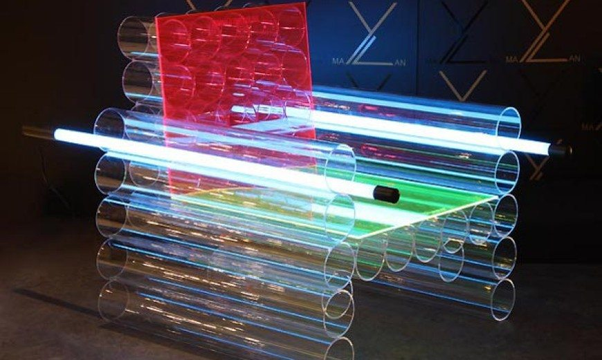 Enlightening Chairs that Radiate Light
