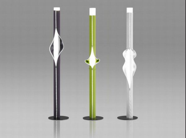 zipper lamp cache cache Monochromatic zipped up lamps from Victor Boeda: Cache Cache lamp