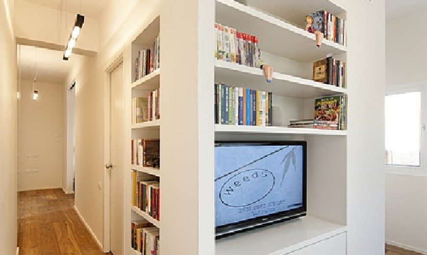 Small multi-functional 40 Square Meter Apartment in Tel-Aviv