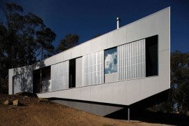 Listen to the Rain and the Birds While at the Base Camp Chewton Residence