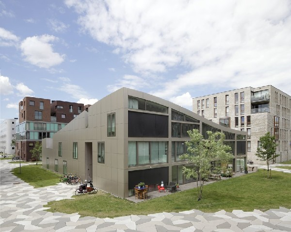 Impressive blok k in amsterdam by nl architects - Maison rogers sturz michael lee architects ...
