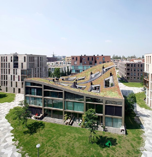 Blok K in Amsterdam by NL Architects