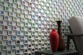 INAX Dent Cube Adds Style to Your Wall