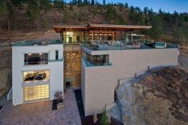 Custom Private Home in British Columbia by David Tyrell Architecture 1
