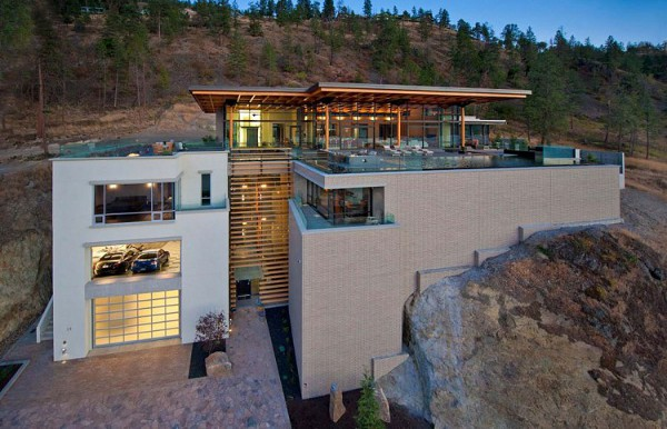 Custom Private Home in British Columbia by David Tyrell Architecture 1 Trendy Custom Private Home Offers Cool Comfort with all Luxury