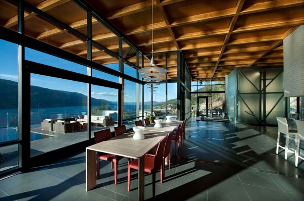 Custom Private Home in British Columbia by David Tyrell Architecture 16