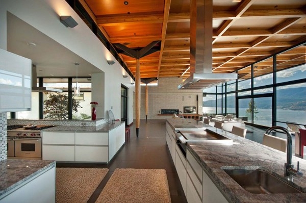 Custom Private Home in British Columbia by David Tyrell Architecture 18