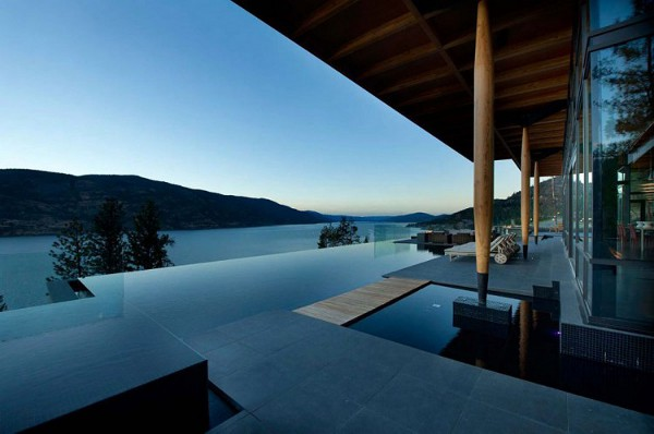 Custom Private Home in British Columbia by David Tyrell Architecture 7