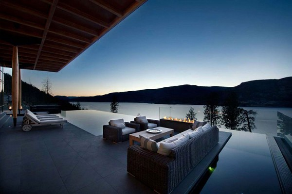 Custom Private Home in British Columbia by David Tyrell Architecture 9
