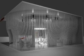 Extra-ordinary Pavilion by Riccardo Giovanetti