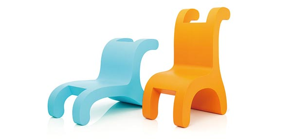 Flip Chairs Fun Flip Chair Series from Daisuke Motogi Architecture