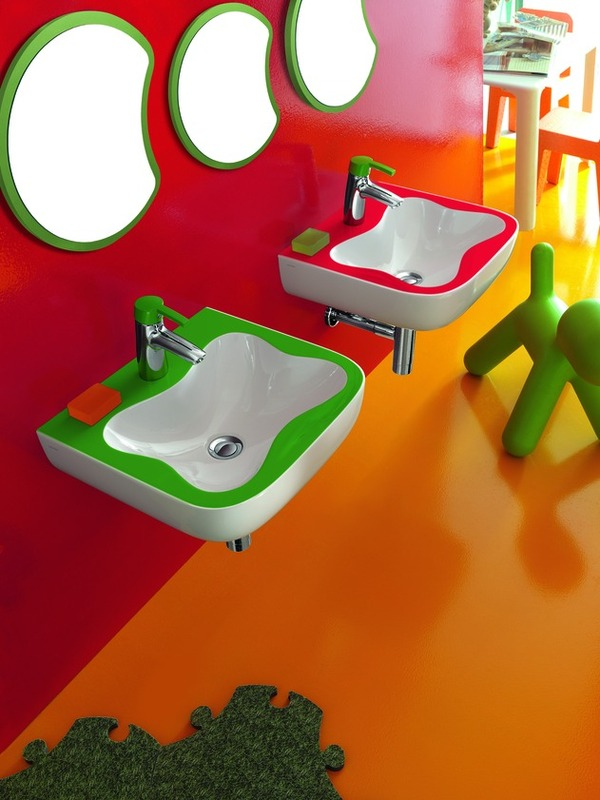 Florakids Bathroom by Laufen 1 Playful and Colourful Bathroom Exclusively For Children by Laufen