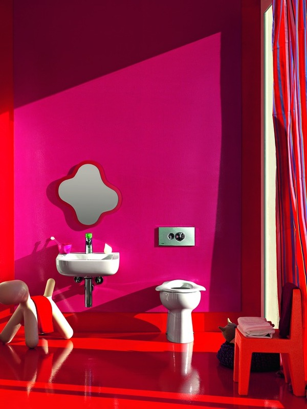 Baños Infantiles Diseno:Colorful Kids Bathroom Ideas