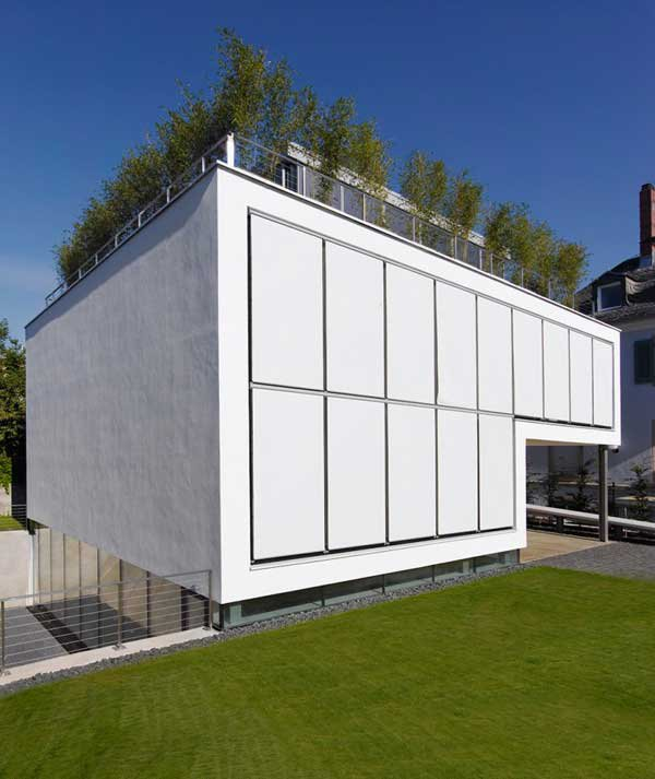 Four-Story High House R by Architect Roger Christ 10