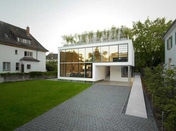 Four-Story High House R by Architect Roger Christ 3
