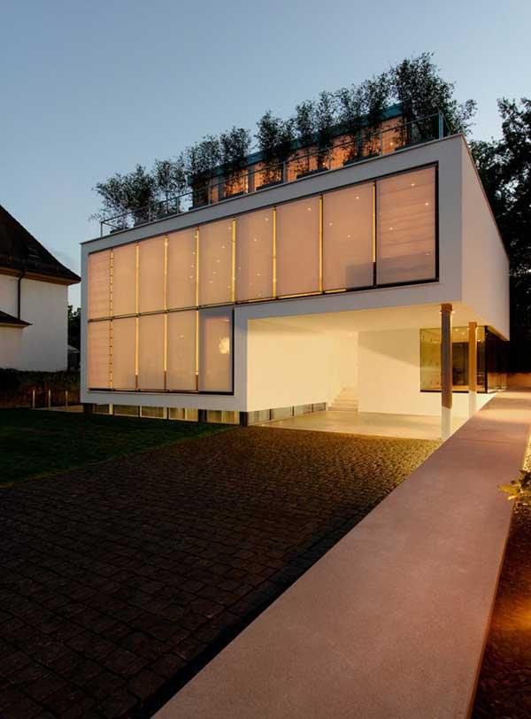 Four-Story High House R by Architect Roger Christ 6