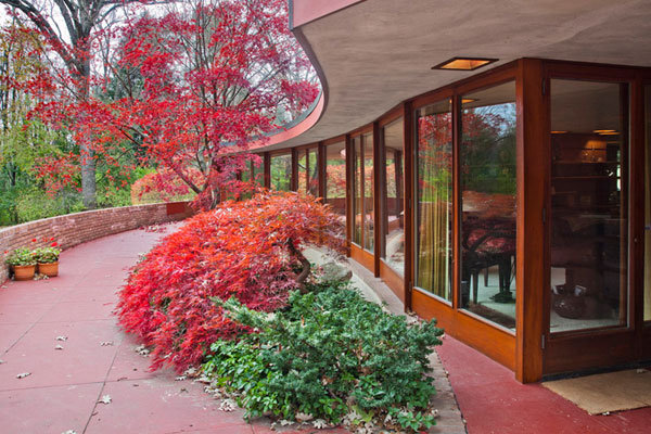 Frank Lloyd Wrights Kenneth Laurent House 1 Frank Lloyd Wright's Exquisite Kenneth Laurent House Can Make You Yearn for It