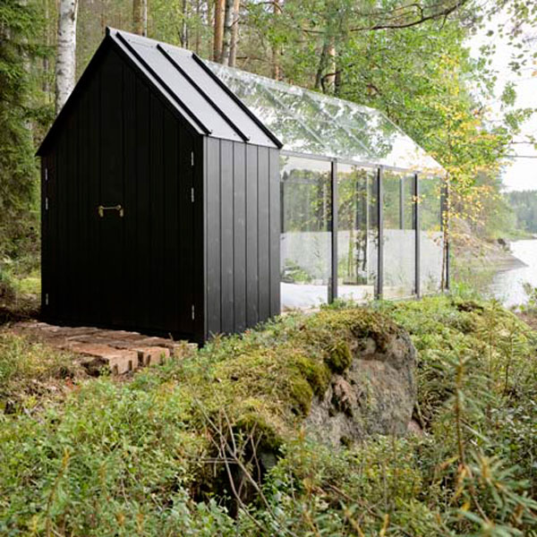 Transparent Secluded Retreat With Included Garden Shed