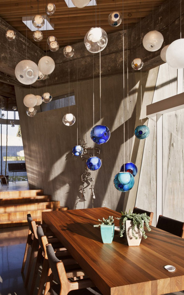 Glass Ball Chandeliers by Bocci 3