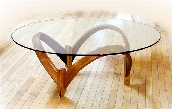 Larry and Nancy Buechley  Artistic coffee tables by Larry and Nancy Buechley