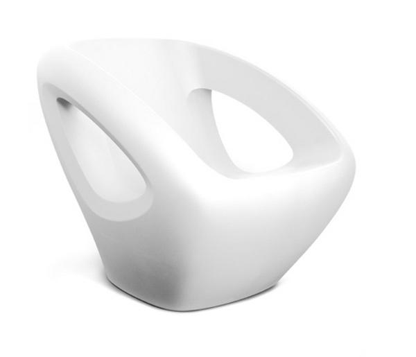 Modern Polyethylene Chairs by Lonc 3