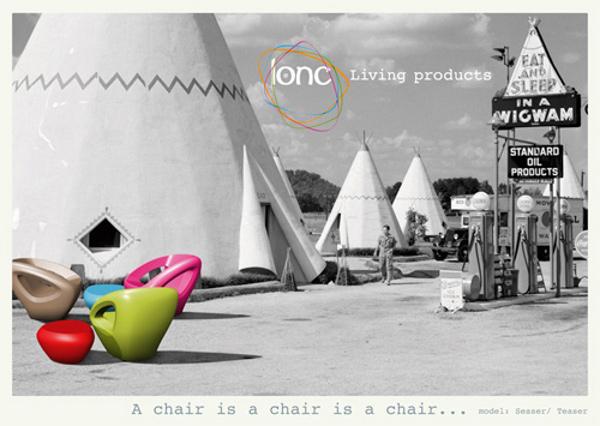 Modern Polyethylene Chairs by Lonc 4
