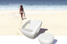 Modern Polyethylene Chairs by Lonc 5