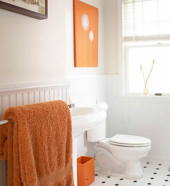 Orange-White-Sleek-Bathroom1
