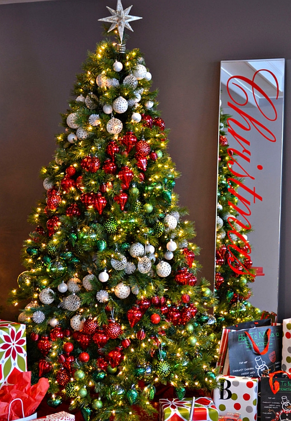 Christmas tree ideas how to decorate a christmas tree How to decorate a christmas tree without tinsel