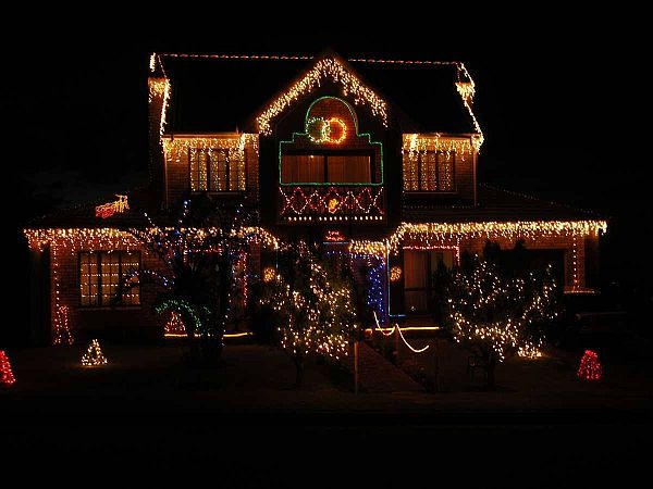 Clear Outdoor Christmas Lights