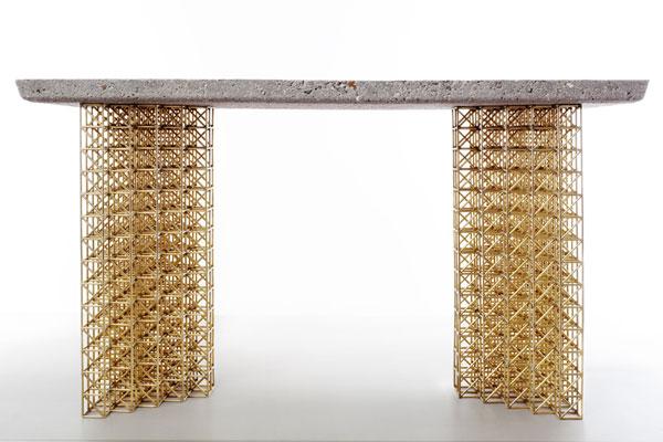 Philippe Malouin %E2%80%93 Gridlock 2 Concrete and grid patterns: Philippe Malouins – New Works (Gridlock 2)