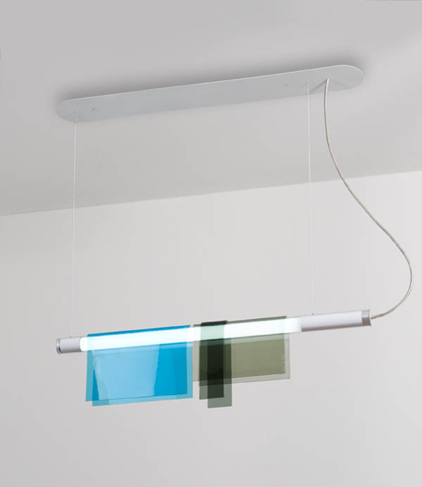 Photochrome Suspension Lamp 2 Reconstructing an elegant and simple design: Photochrome Suspension Lamp
