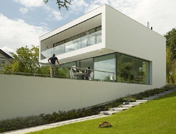 Puristische Villa (3)