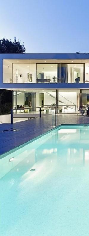 Puristische Villa