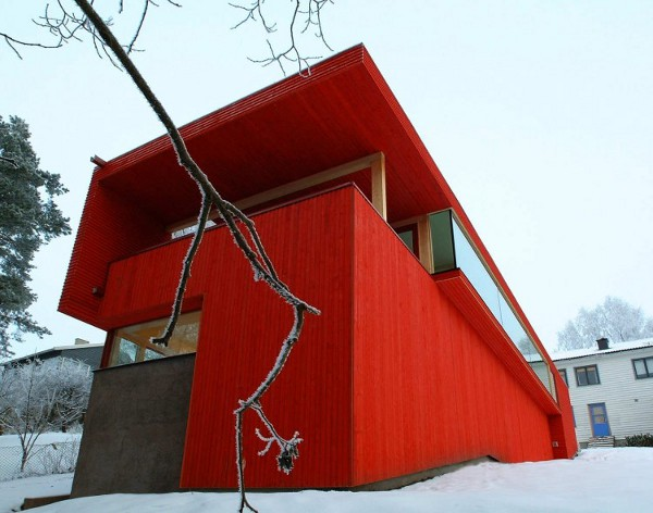 Red House by JVA 4